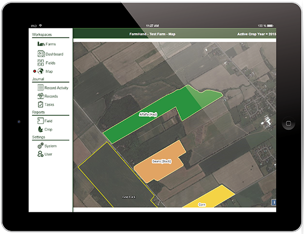 FarmHand agriculture mobile apps